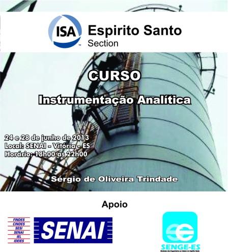 Aplicação de Analisadores industriais: Sistemas de Amostragem de condicionamento, analisadores para líquidos e gases.